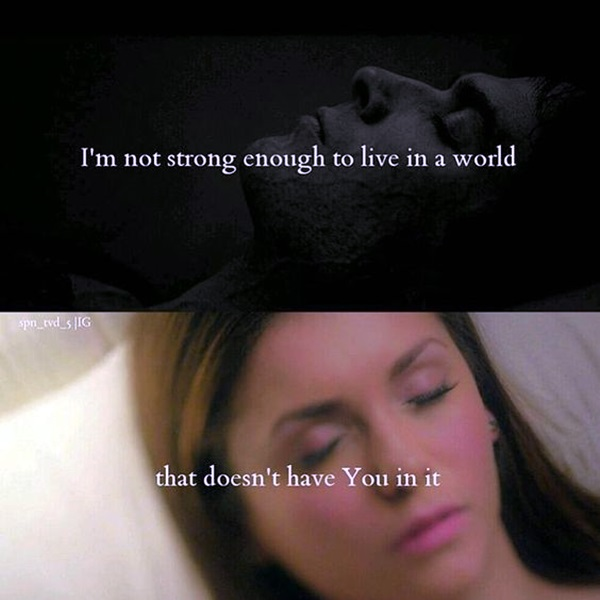 Fantastic Vampire Diaries Quotes (39)