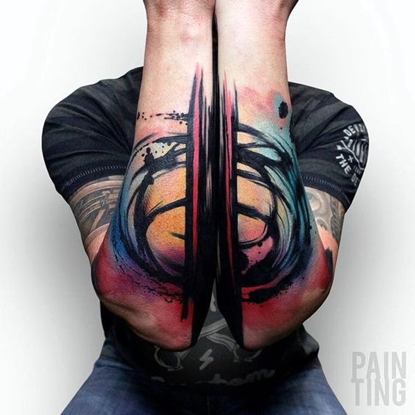 Incredibly Artistic Abstract Tattoo Designs (11)