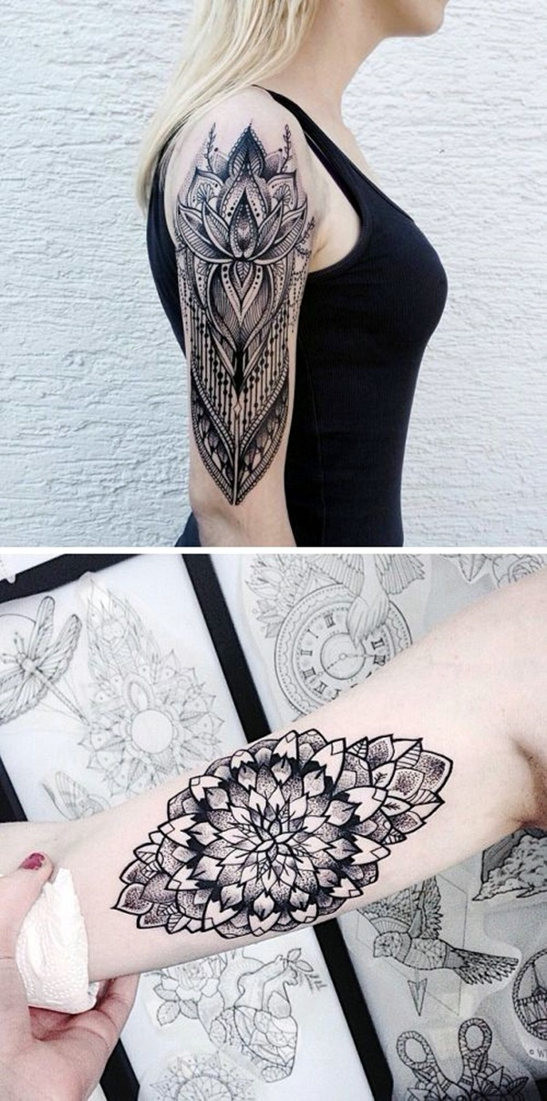 Incredibly Artistic Abstract Tattoo Designs (14)