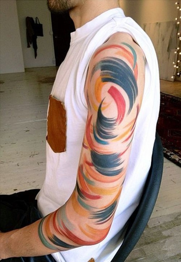Incredibly Artistic Abstract Tattoo Designs (24)