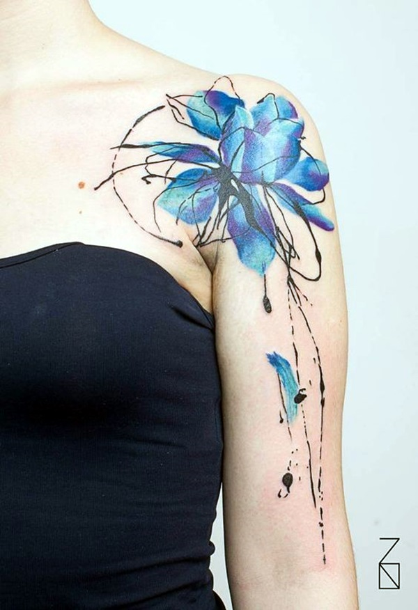 Incredibly Artistic Abstract Tattoo Designs (25)