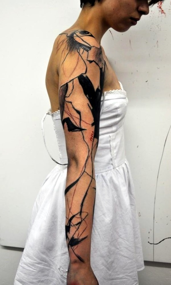Incredibly Artistic Abstract Tattoo Designs (6)