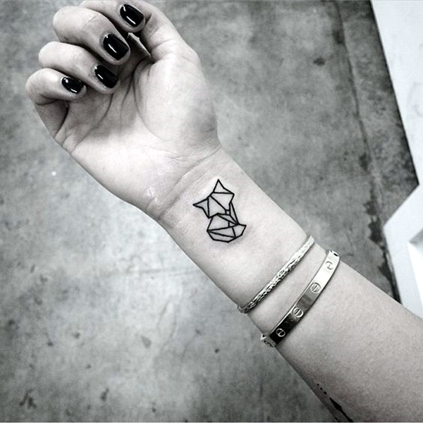 Lovely Origami Tattoo Designs (In Trend) (5)