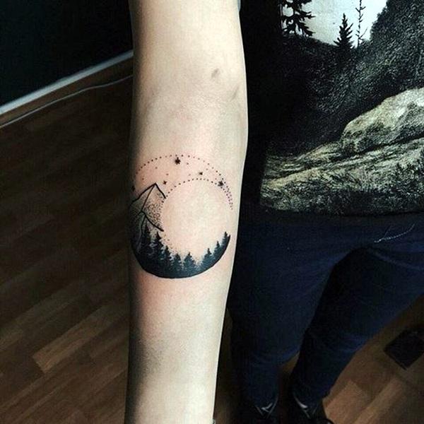 Magical Moon Tattoo Designs (13)