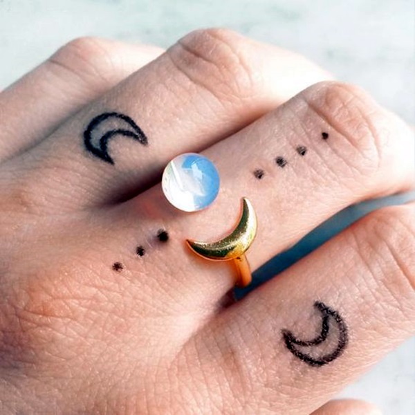 Magical Moon Tattoo Designs (16)