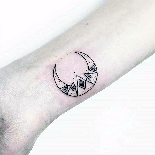 Magical Moon Tattoo Designs (20)
