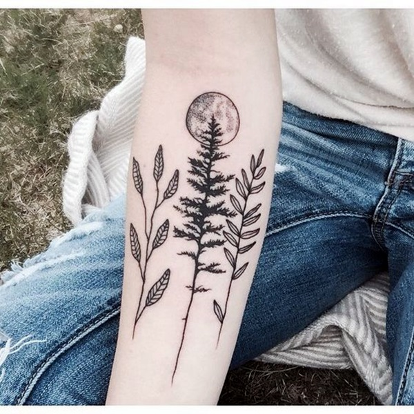 Magical Moon Tattoo Designs (22)