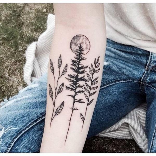 Magical Moon Tattoo Designs (22)