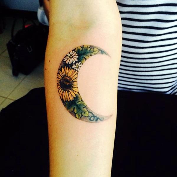 Magical Moon Tattoo Designs (28)