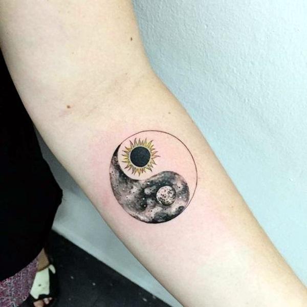 Magical Moon Tattoo Designs (30)