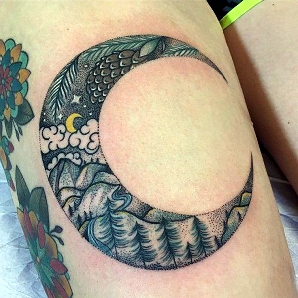 Magical Moon Tattoo Designs (5)