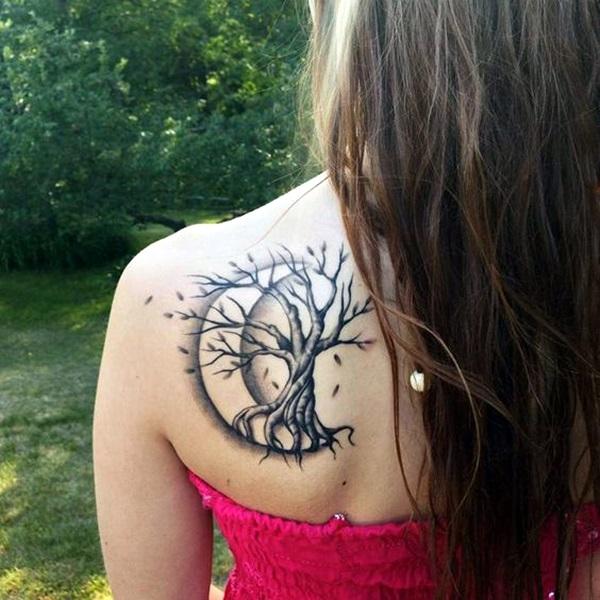 40 Magical Moon Tattoo Designs