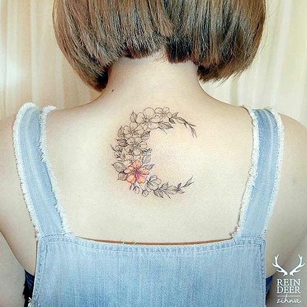 Magical Moon Tattoo Designs (8)