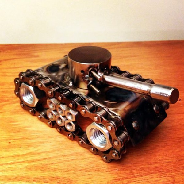Mechanical Nuts And Bolts Art Ideas (23)