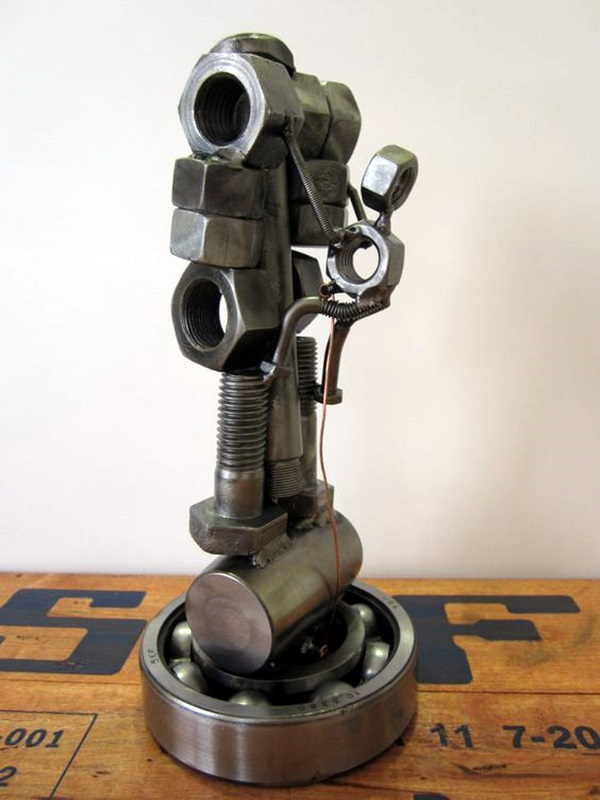 Mechanical Nuts And Bolts Art Ideas (39)