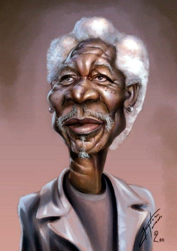 Portrait Caricatures Of Famous Peoples (1)