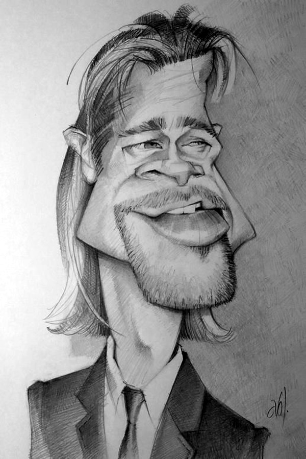 Portrait Caricatures Of Famous Peoples (26)