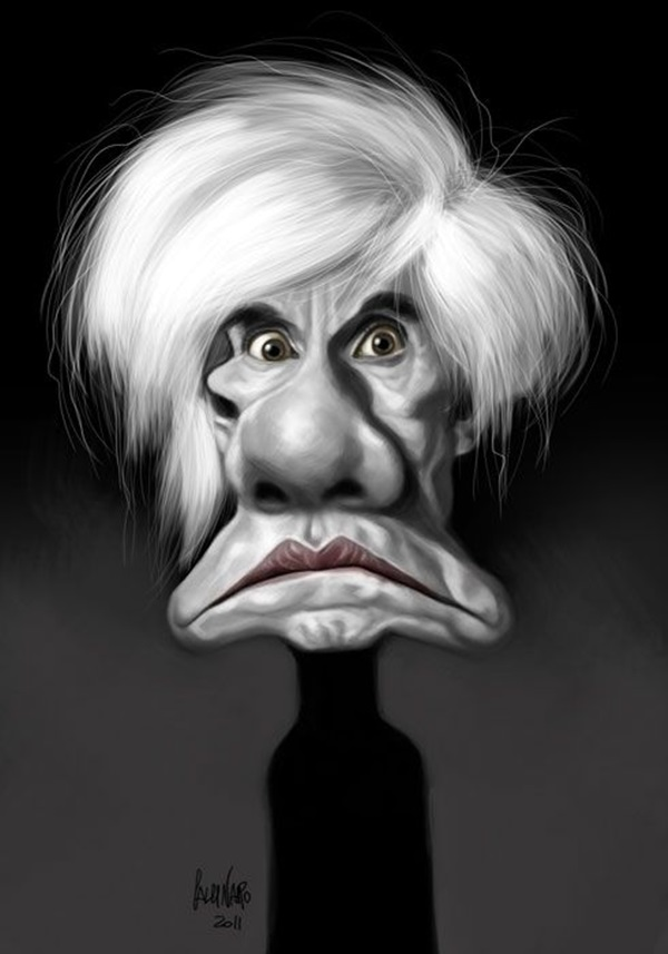 Portrait Caricatures Of Famous Peoples (27)