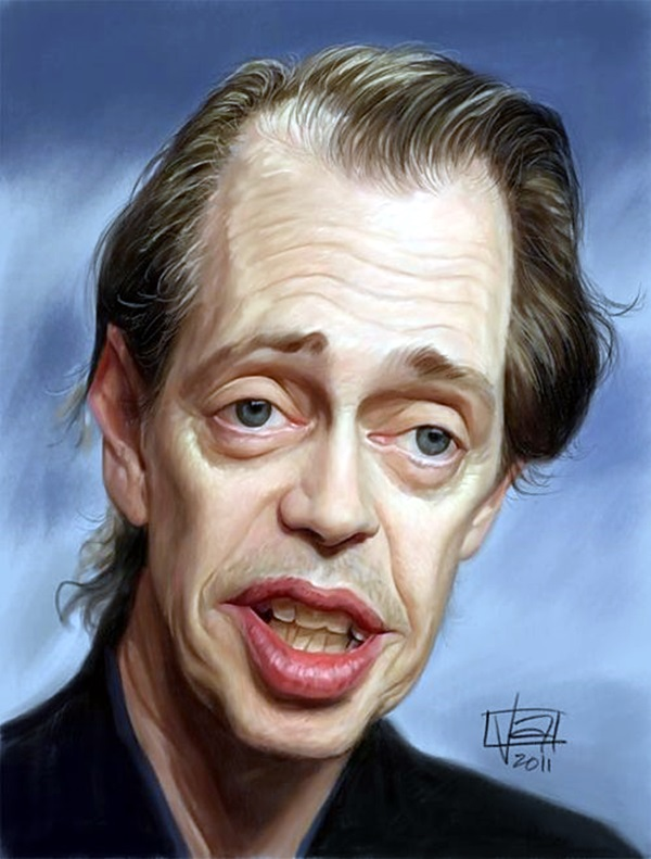 Portrait Caricatures Of Famous Peoples (3)