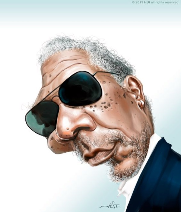 Portrait Caricatures Of Famous Peoples (36)