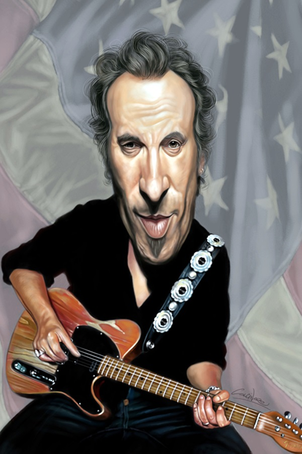 Portrait Caricatures Of Famous Peoples (8)