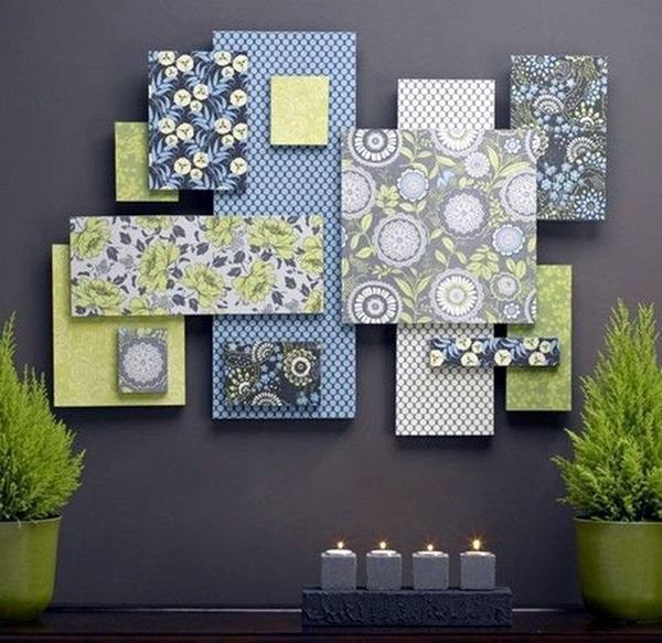 Ridiculously Artistic Fabric Wall Art Ideas (11)