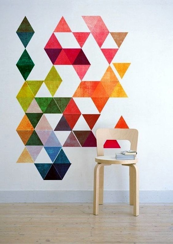 Ridiculously Artistic Fabric Wall Art Ideas (15)