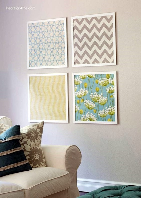 Ridiculously Artistic Fabric Wall Art Ideas (16)
