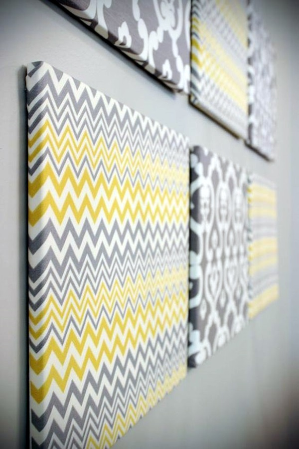 Ridiculously Artistic Fabric Wall Art Ideas (18)