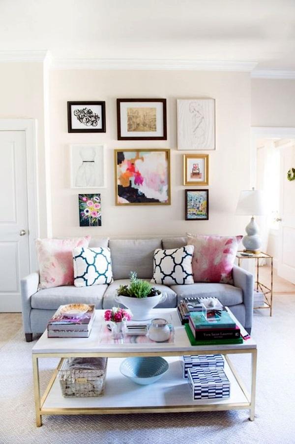 Ridiculously Artistic Fabric Wall Art Ideas (20)