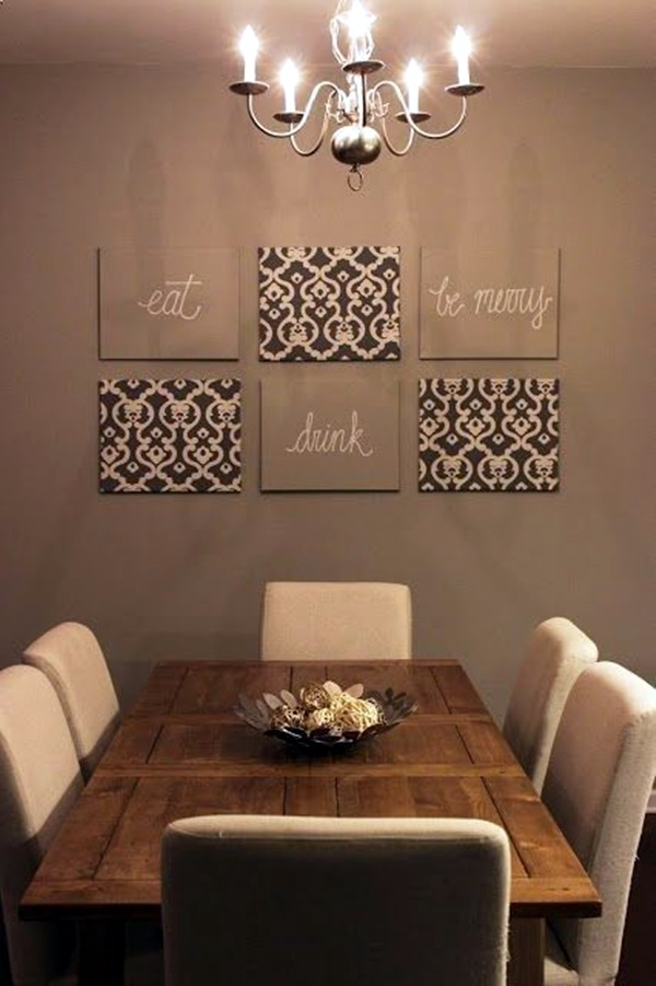 Ridiculously Artistic Fabric Wall Art Ideas (21)