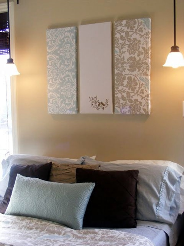 Ridiculously Artistic Fabric Wall Art Ideas (32)