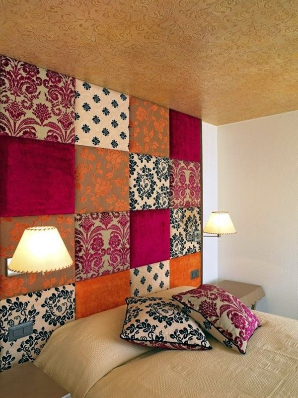 Wall Decor With Cloth : Ridiculously artistic fabric wall art ideas