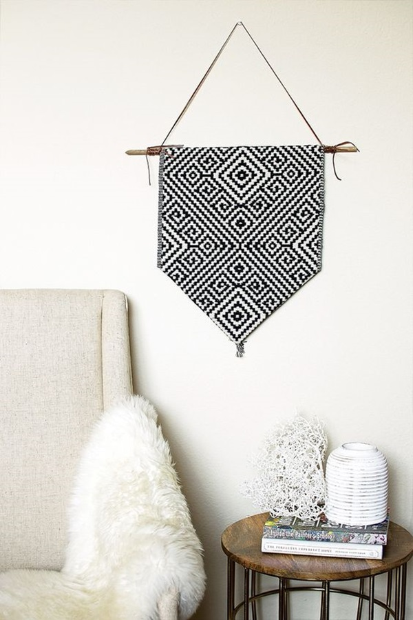 Ridiculously Artistic Fabric Wall Art Ideas (35)