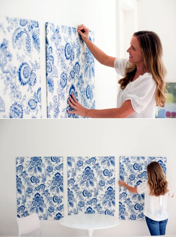 Ridiculously Artistic Fabric Wall Art Ideas (6)