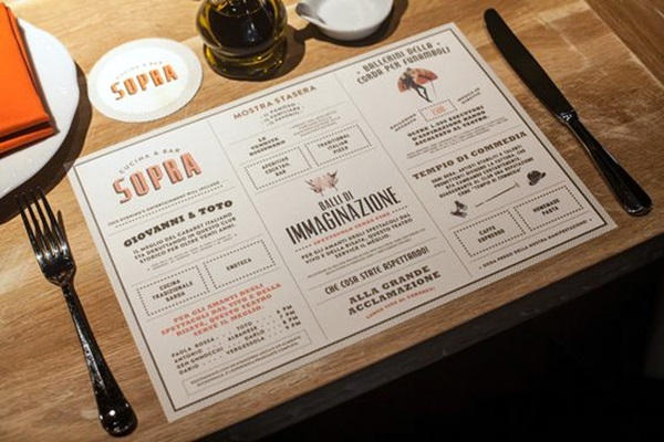 40 Smart And Creative Menu Card Design Ideas