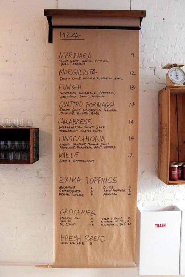 Butchers Kitchen Menu : 40 Smart And Creative Menu Card Design Ideas