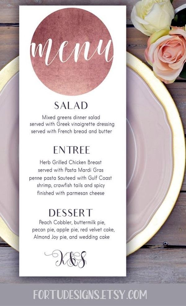 Creative Restaurant Menu Card Designs
