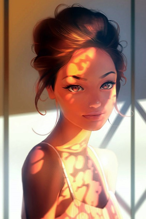 Spectacular Digital Painting Portraits (4)