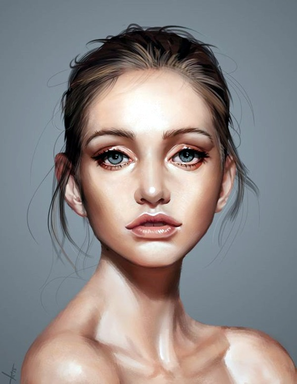 Spectacular Digital Painting Portraits (6)
