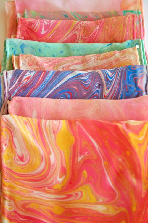 fabric marbling 2