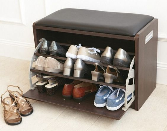 superbly practical and convenient shoe rack designs bored art