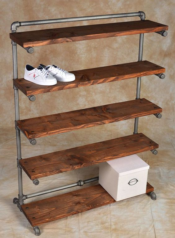 are many convenient and creative storage rack ideas for shoes and if