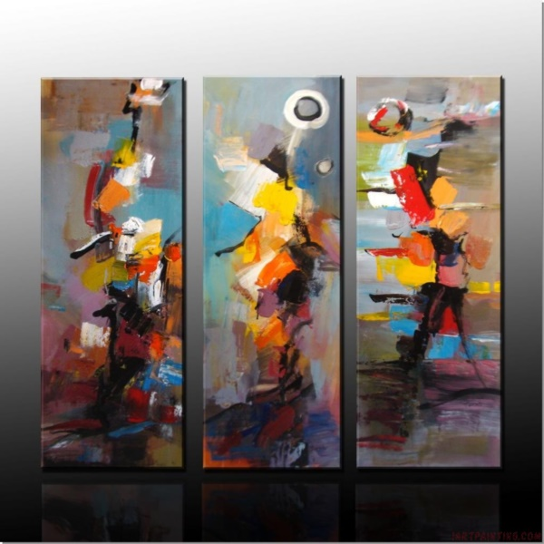 83be309d043 40 Abstract Acrylic Painting Ideas - Bored Art