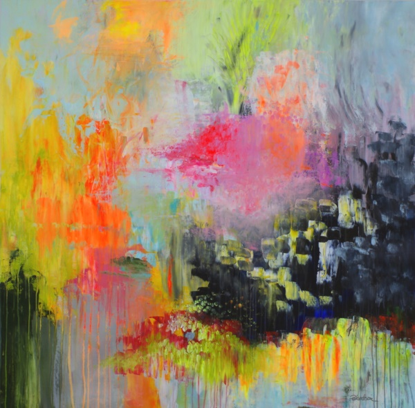 40 Abstract Acrylic Painting Ideas - Bored Art