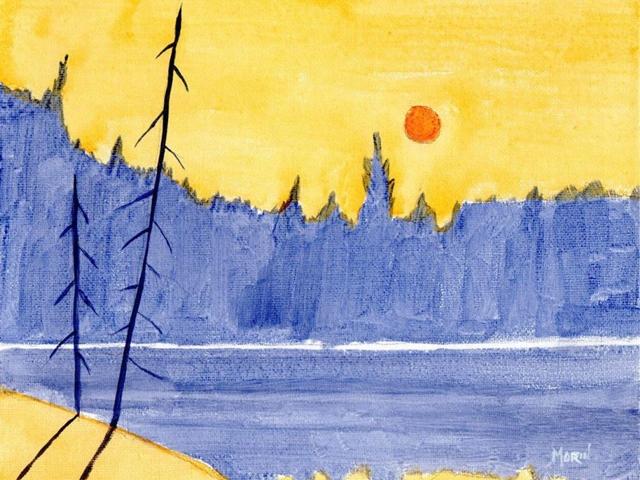 40 abstract acrylic painting ideas bored art