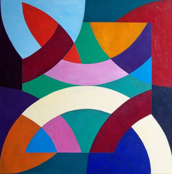 What Is Shape In Art : Aesthetic geometric abstract art paintings bored