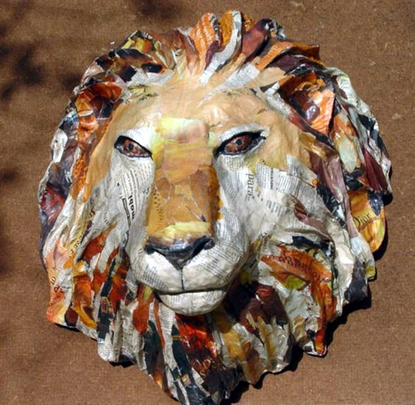 Awesome Paper Mache Creatures Like Never Seen Before (14)