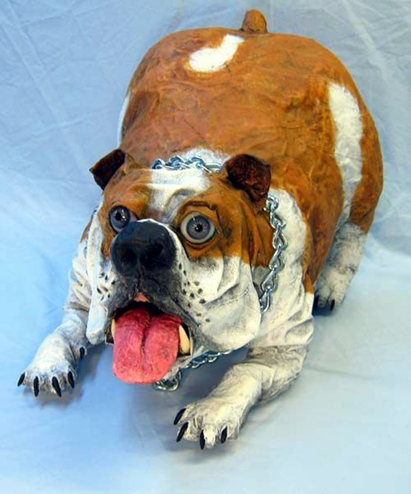 Awesome Paper Mache Creatures Like Never Seen Before (23)