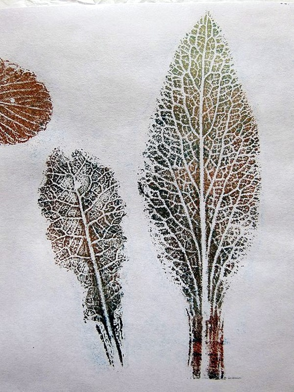 DIY Mixed Media Tree Art Projects (20)